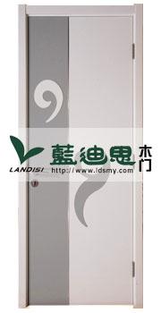 灰白祥云符(混油套色)子母烤漆门架构合理,河南厂家科学生产设计