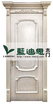 高端混油大白实木复合烤漆门,工程会所指定专用,河南悦目品牌