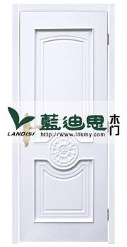 纯白装板扣线混油烤漆门<主场订造>河南最大生产厂家基地