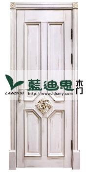四方平框对接实木雕花烤漆门款,纯白上油漆,市场流行热款