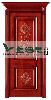 精致颜控外挂线实木烤漆门,仿古中式造型风格,双面扣雕花,合理报价推荐