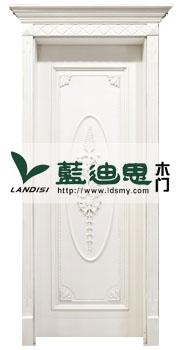 磁感白扣线雕花烤漆门(单面冒头)着实报价,厂家打造时尚风