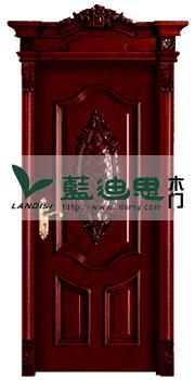 异形冒头酒红色双压真扣线实木烤漆门【量身定制】绝配百搭色盛流行