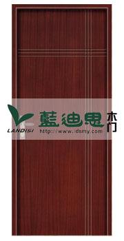 直板平雕(核桃木复合工程门)河南门厂制造专家-悠久品质