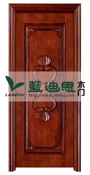 牵牛花样打板设计实木烤漆门,流行订样,品牌独特创新工厂