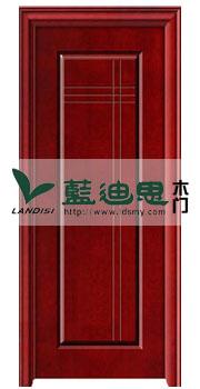 超流行实木复合烤漆门,叠加错落线性设计<新材好门厂>批发价
