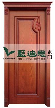 田园风犀利定制雕花实木烤漆门,外镶订造雅致供应厂家