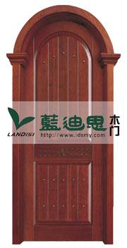 红衫木拱形实木烤漆门<特殊门洞尺寸>价格增添厂家批发最低