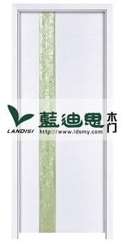豆芽绿清新混油套色烤漆门<镂空雕花>彰显气质、出厂价直销