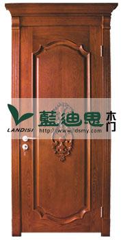 扣线+冒头+浮雕花实木烤漆门[新潮风格]门厂出售新样品