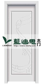 流动白色混油烤漆门,灵动工匠优越工厂出售