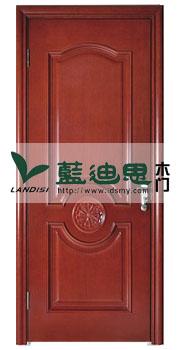 深槽中心圆实木烤漆门,内定价/河南门厂专卖门店升级供应