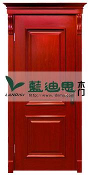 上下方框大红扣线烤漆套装门<凸线>分类系列出厂