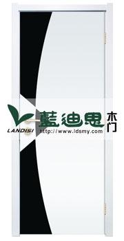 工装场所抽象设计办公工程门,混油白系平板报价采购