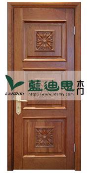 木皮仿古铜雕花烤漆门(生产批发)招商加盟专卖
