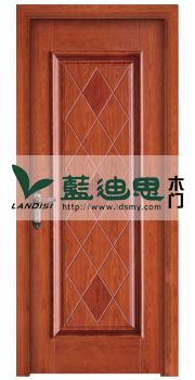 中式小区工程门<贴皮拼接>菱形雕刻,多门类招商系列供应厂商