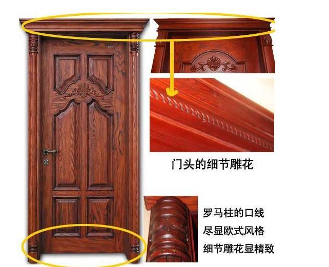 行业知识-欧式实木门的门头是单面还是双面?材质是?