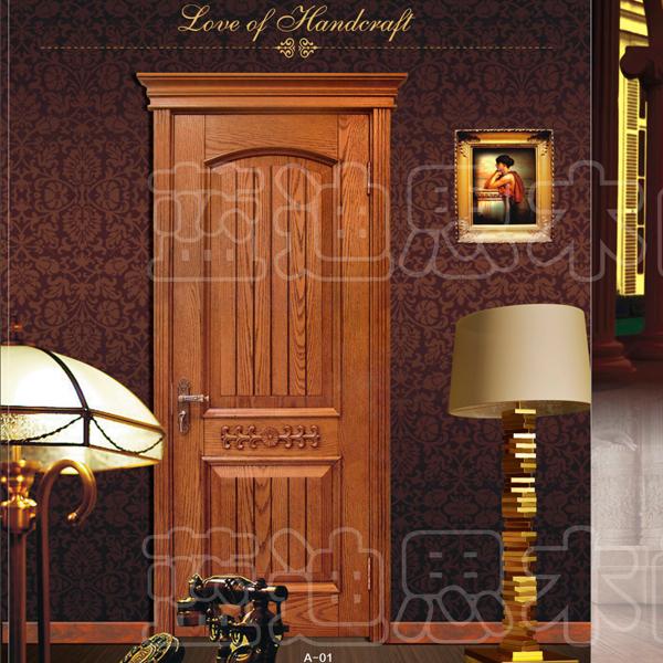 雕花烤漆门-欧式雕花实木烤漆门